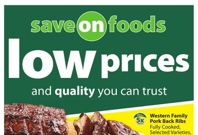 Save on Foods (AB) Flyer August 26 to September 1