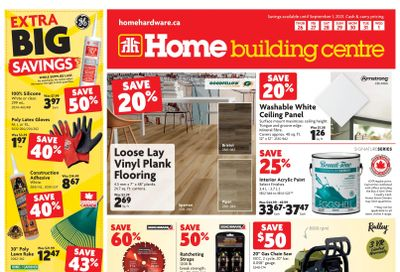 Home Building Centre (ON) Flyer August 26 to September 1