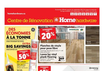 Home Hardware Building Centre (QC) Flyer August 26 to September 1