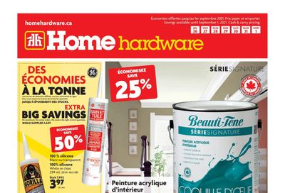 Home Hardware (QC) Flyer August 26 to September 1