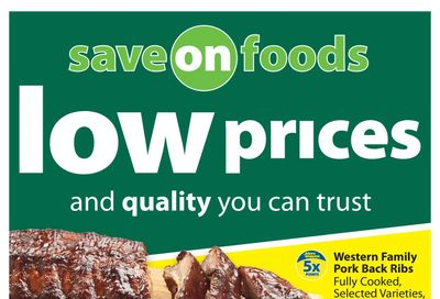 Save on Foods (SK) Flyer August 26 to September 1