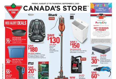 Canadian Tire (West) Flyer August 27 to September 2