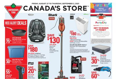 Canadian Tire (Atlantic) Flyer August 27 to September 2