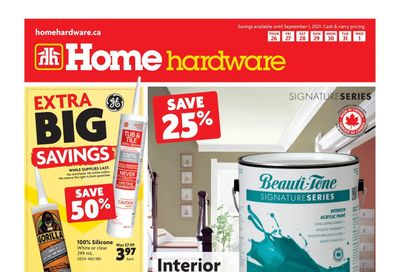 Home Hardware (Atlantic) Flyer August 26 to September 1