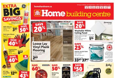 Home Building Centre (Atlantic) Flyer August 26 to September 1