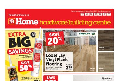 Home Hardware Building Centre (BC) Flyer August 26 to September 1