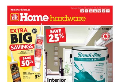 Home Hardware (BC) Flyer August 26 to September 1