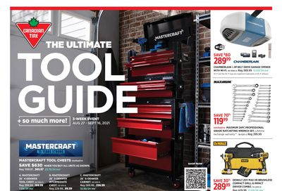 Canadian Tire The Ultimate Tool Guide August 27 to September 16