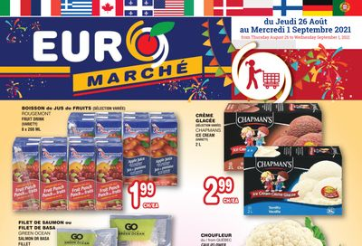 Euro Marche Flyer August 26 to September 1