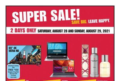 Shoppers Drug Mart (West) Flyer August 28 to September 2
