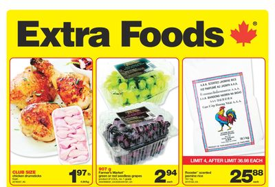 Extra Foods Flyer August 27 to September 2