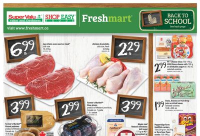 Shop Easy & SuperValu Flyer August 27 to September 2