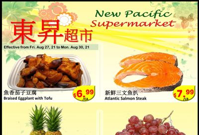 New Pacific Supermarket Flyer August 27 to 30