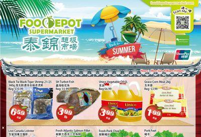 Food Depot Supermarket Flyer August 27 to September 2