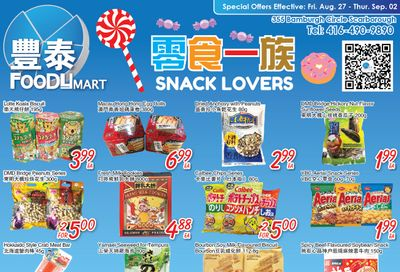FoodyMart (Warden) Flyer August 27 to September 2