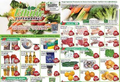 Ethnic Supermarket Flyer August 27 to September 2