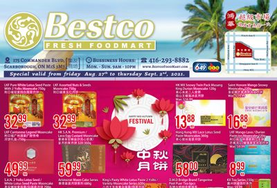 BestCo Food Mart (Scarborough) Flyer August 27 to September 2