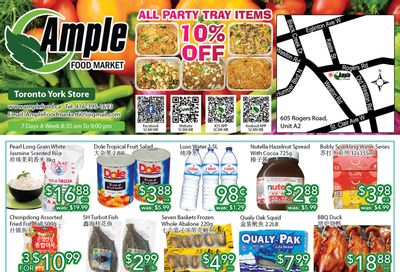 Ample Food Market (North York) Flyer August 27 to September 2