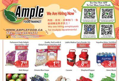 Ample Food Market (Brampton) Flyer August 27 to September 2