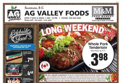 AG Foods Flyer August 27 to September 2
