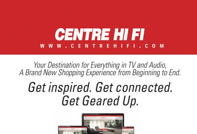 Centre Hi-Fi Flyer August 27 to September 2