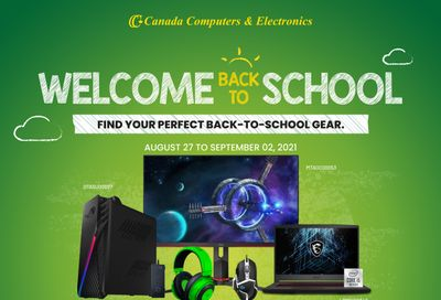 Canada Computers Flyer August 27 to September 2
