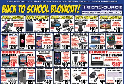 TechSource Flyer August 27 to September 30
