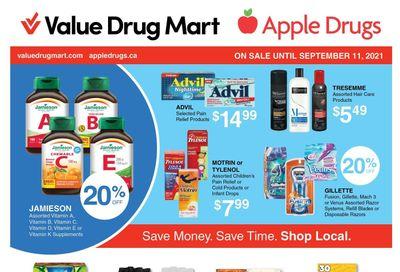Apple Drugs Flyer August 29 to September 11