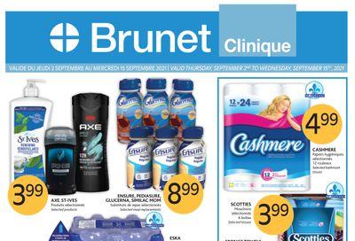 Brunet Clinique Flyer September 2 to 15
