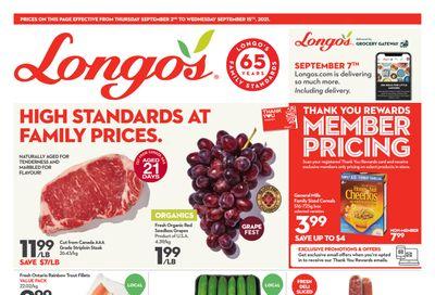Longo's Flyer September 2 to 15