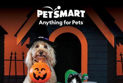 PetSmart Wicked Fun Flyer September 1 to October 31