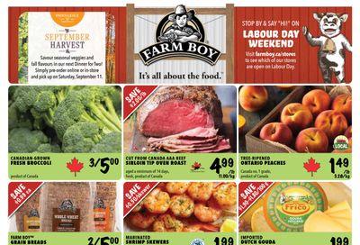 Farm Boy Flyer September 2 to 8
