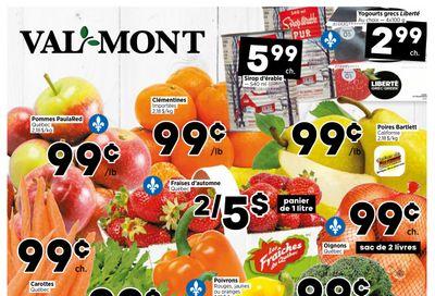 Val-Mont Flyer September 2 to 8