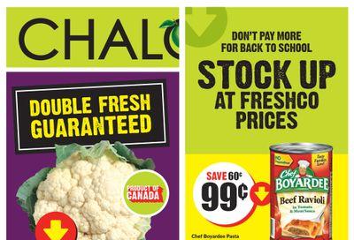Chalo! FreshCo (ON) Flyer September 2 to 8