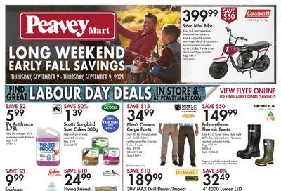 Peavey Mart Flyer September 2 to 9