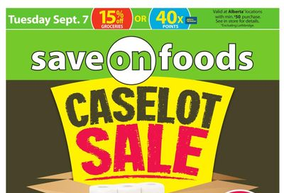 Save on Foods (AB) Flyer September 2 to 8
