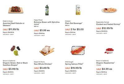 Whole Foods Market (West) Flyer September 1 to 7