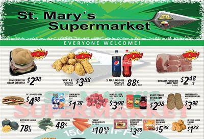 St. Mary's Supermarket Flyer September 1 to 7
