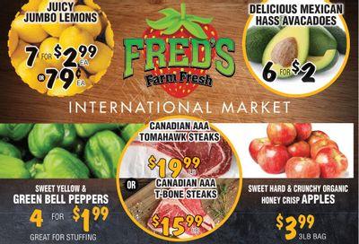 Fred's Farm Fresh Flyer September 1 to 7