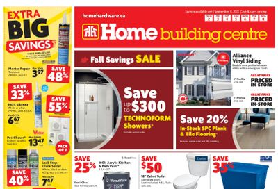 Home Building Centre (ON) Flyer September 2 to 8