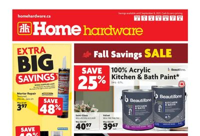 Home Hardware (ON) Flyer September 2 to 8