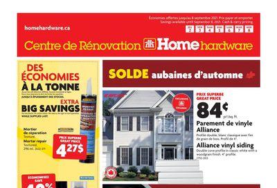 Home Hardware Building Centre (QC) Flyer September 2 to 8