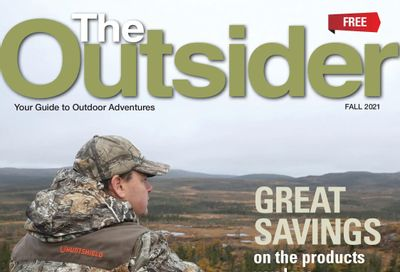 Canadian Tire The Outsider Flyer September 3 to 30