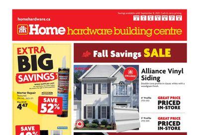 Home Hardware Building Centre (Atlantic) Flyer September 2 to 8