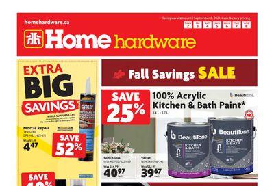Home Hardware (Atlantic) Flyer September 2 to 8