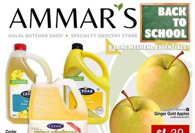 Ammar's Halal Meats Flyer September 2 to 8