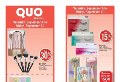 Shoppers Drug Mart (West) Flyer September 4 to 10