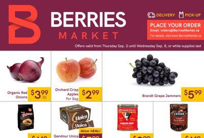 Berries Market Flyer September 2 to 8