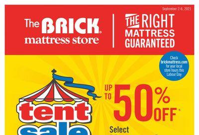 The Brick Mattress Store Flyer September 2 to 6