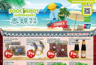 Food Depot Supermarket Flyer September 3 to 9